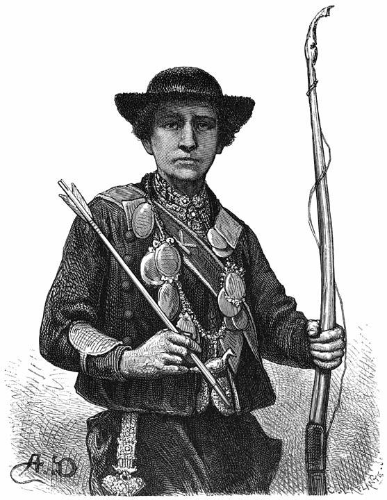 De schutterkoning. 1875