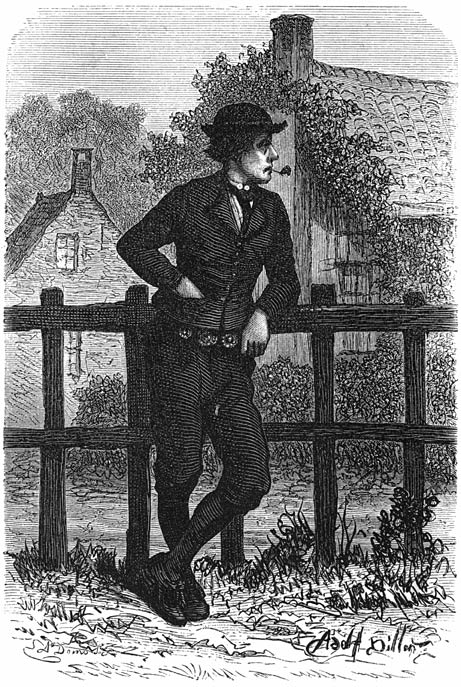 Een boer uit Zuid-Beveland. 1875