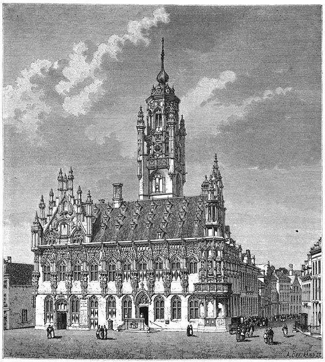 Stadhuis te Middelburg.