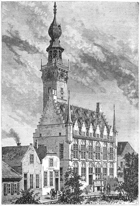Stadhuis te Veere. 1875