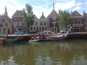 Harlingen Noorderhaven Pakhuizen