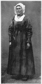 Klederdracht vrouw Blaricum ('t Gooi)