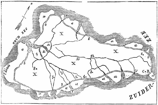 KAARTJE VAN MARKEN IN 1770.