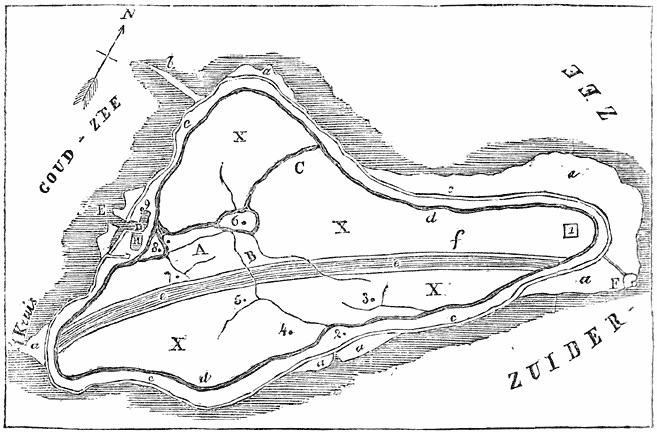 KAARTJE VAN MARKEN IN 1853.