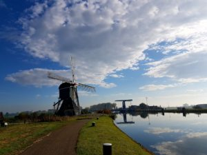 Bonkmolen, één van de mooiste wipwatermolens van Zuid-Holland, Meerkerk (c) 2016 Martin Lamboo