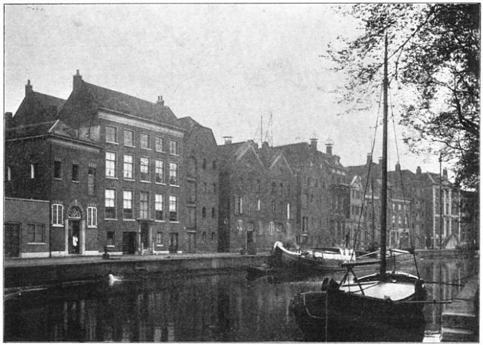 Langehaven te Schiedam. (ca. 1905)