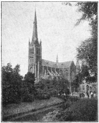 Katholieke kerk te Schiedam. (ca. 1905)