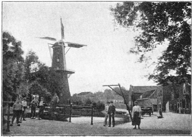 Oudevest-singel te Schiedam. (ca 1905)