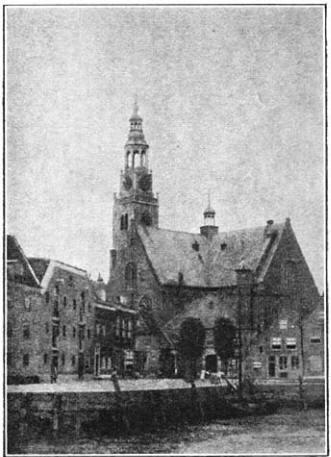 Groote Kerk te Maassluis. (ca. 1905)
