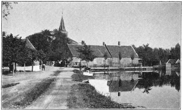 Polsbroek bij Schoonhoven.