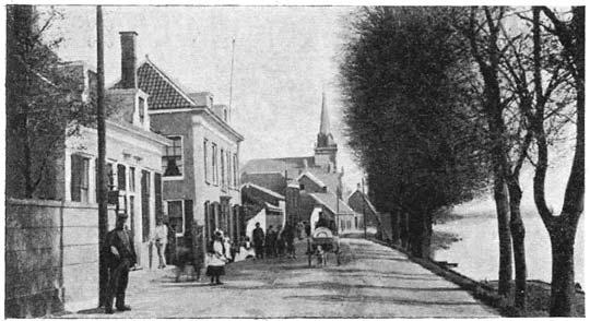"""Huis """"te Kinderdijk"""", Alblasserdam."""