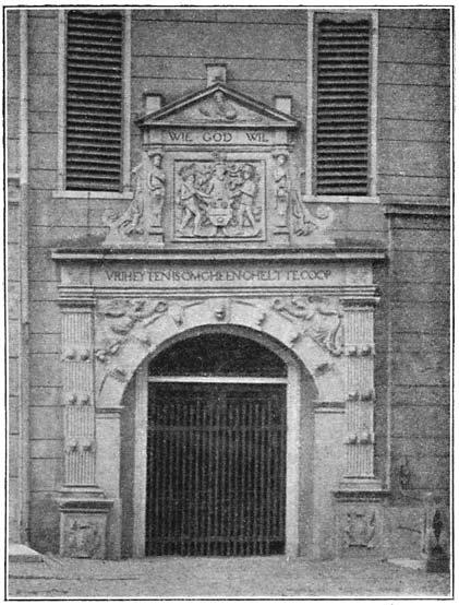 Poortje van Leerdam.