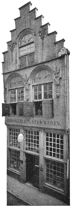 De Rozijnkorf. Voorstraat No. 250. Dordrecht