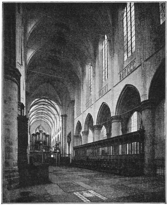 De Groote Kerk te Dordrecht.