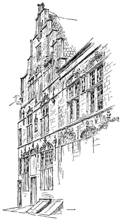 Het Lammetje van Veere uit de 16e eeuw.