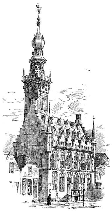 Stadhuis te Veere.