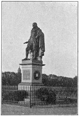 Standbeeld van Michiel Adr.zn. de Ruyter.