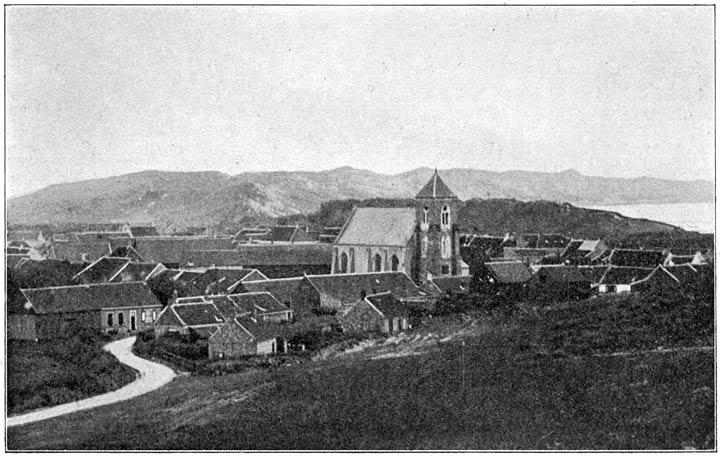 Zoutelande (van de N.W. zijde gezien).