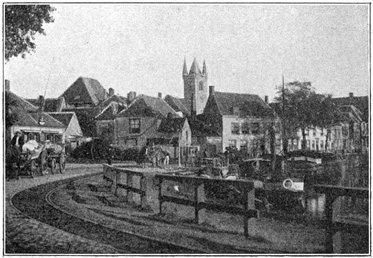 De haven van Sluis.