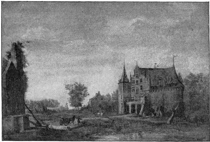 Het voormalig Kasteel van Wouw.