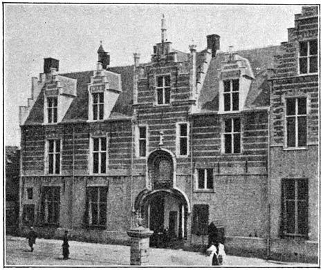 Kazerne in het Markiezenhof te Bergen-op-Zoom.