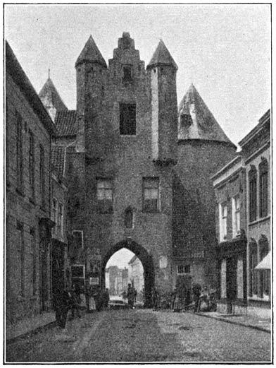 Gevangenpoort te Bergen-op-Zoom.
