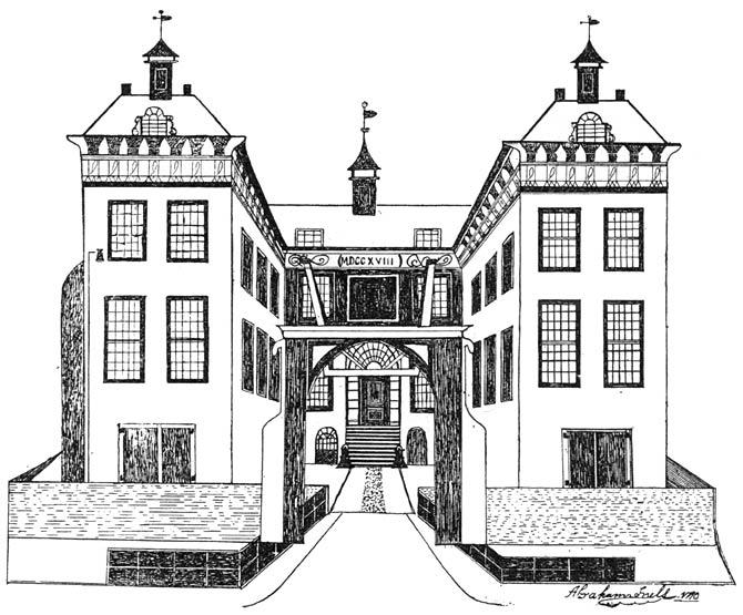 Vroeger kasteel te Etten.