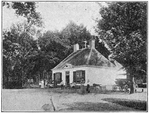 "Boschwachterswoning in het ""Liesbosch"" te Prinsenhage."
