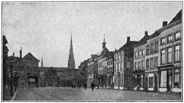 Groote Markt te Breda.