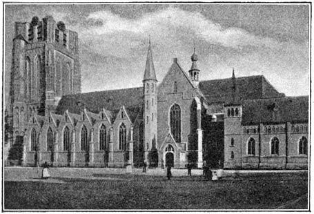 Groote kerk te Oosterhout.